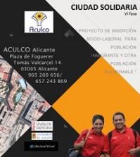 ciudad solidaria port  jl15 diptico
