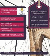 cartel general empleo Constr Futur mz1616